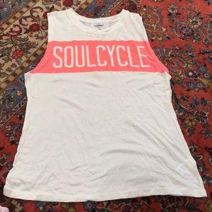 Soulcycle muscle tank sz XS